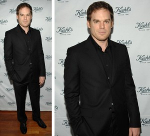 Michael C Hall at Kiehl's Event