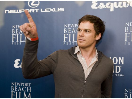 Michael C Hall at the Newport Beach Film Festival